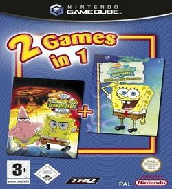 2 Games In 1 Nickelodeon SpongeBob Schwammkopf Der Film Nickelodeon SpongeBob Schwammkopf Schlacht Um Bikini Bottom  - Disc #2 ROM