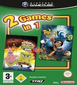 2 Games In 1 Nickelodeon SpongeBob Schwammkopf Der Film Nickelodeon Tak 2 Der Stab Der Traeume  - Disc #1 ROM