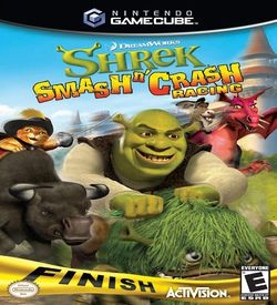 DreamWorks Shrek Smash N Crash Racing ROM