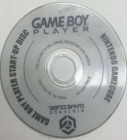 Game Boy Player Start Up Disc ROM