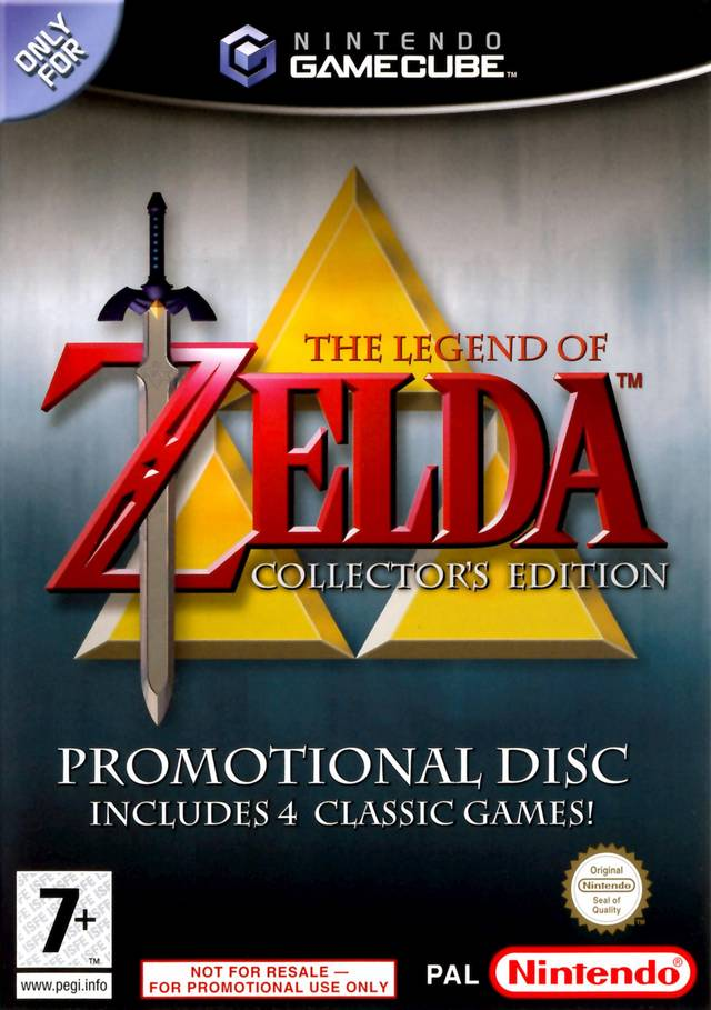 Legend Of Zelda The Collector's Edition
