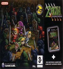 Legend Of Zelda The Four Swords Adventures ROM