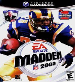 Madden NFL 2003 ROM