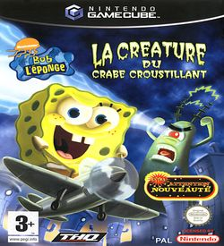 Nickelodeon Bob L eponge La Creature Du Crabe Croustillant ROM