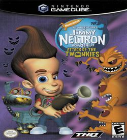 Nickelodeon Jimmy Neutron Boy Genius Attack Of The Twonkies ROM