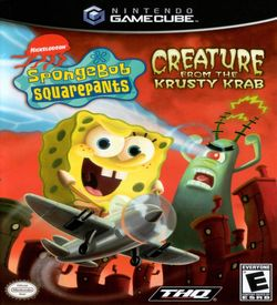 Nickelodeon SpongeBob SquarePants Creature From The Krusty Krab ROM