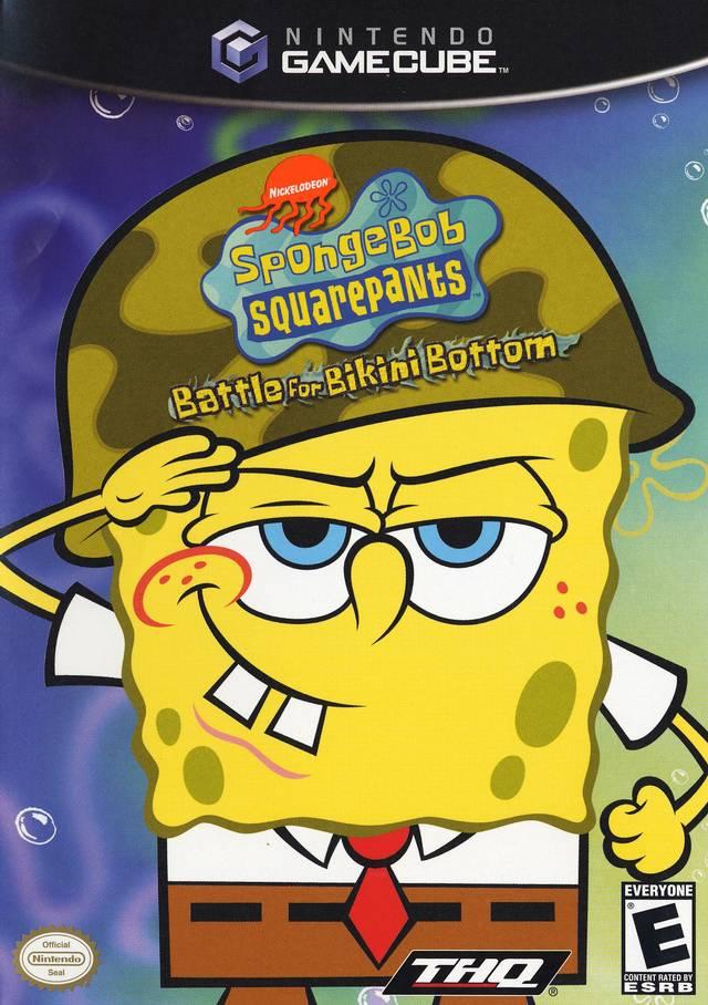 Nickelodeon SpongeBob SquarePants In Battle For Bikini Bottom