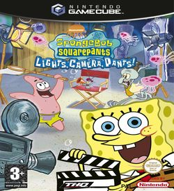 Nickelodeon SpongeBob SquarePants Lights Camera Pants ROM