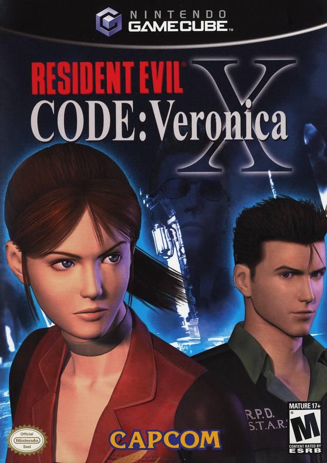 Resident Evil Code Veronica X  - Disc #1