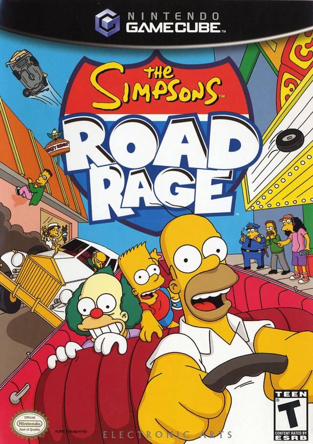 Simpsons The Road Rage
