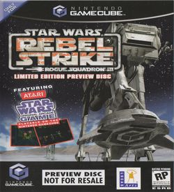 Star Wars Rogue Squadron III Rebel Strike Limited Edition Preview Disc ROM