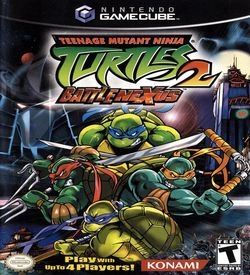 Teenage Mutant Ninja Turtles 2 Battle Nexus  - Disc #1 ROM