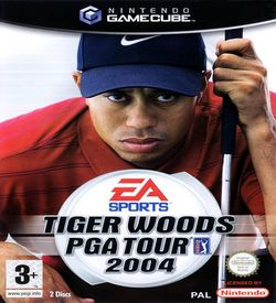 Tiger Woods PGA Tour 2004  - Disc #1 ROM