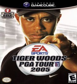 Tiger Woods PGA Tour 2005  - Disc #1 ROM