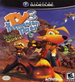 TY The Tasmanian Tiger Night Of The Quinkan ROM
