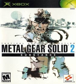 Metal Gear Solid 2 Substance ROM