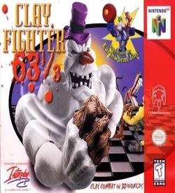 Clay Fighter 63 1-3 ROM