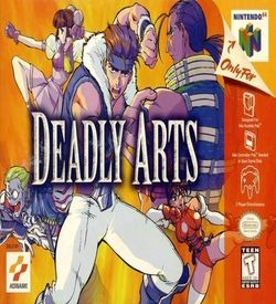 Deadly Arts ROM