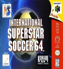 International Superstar Soccer 64 ROM