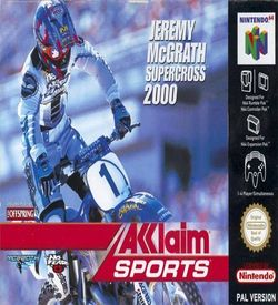 Jeremy McGrath Supercross 2000 ROM