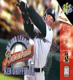 Major League Baseball Featuring Ken Griffey Jr. ROM