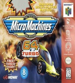 Micro Machines 64 Turbo ROM