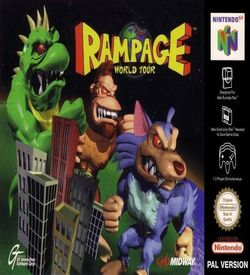 Rampage - World Tour ROM