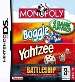 0788 - 4 Game Fun Pack - Monopoly + Boggle + Yahtzee + Battleship ROM