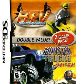 1516 - ATV Thunder Ridge Riders + Monster Trucks Mayhem (2 Game Pack) ROM
