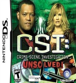 5691 - CSI - Unsolved! ROM