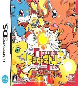 0961 - Digimon Story Sunburst (Navarac) ROM