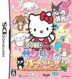 3033 - DS Pico Series - Sanrio No Party E Ikou! Oryouri - Oshare - Okaimono ROM