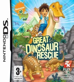 3518 - Go, Diego, Go! - Great Dinosaur Rescue (EU) ROM