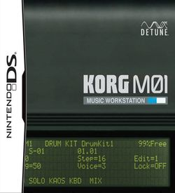 5549 - KORG M01 - Music Workstation ROM