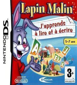 2413 - Lapin Malin - J'Apprends A Lire Et A Ecrire (DSRP) ROM