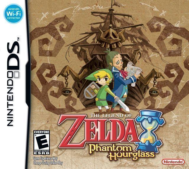 1456 - Legend Of Zelda - Phantom Hourglass, The