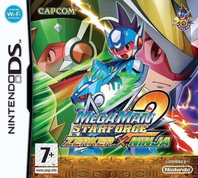 2896 - MegaMan Star Force 2 - Zerker X Ninja
