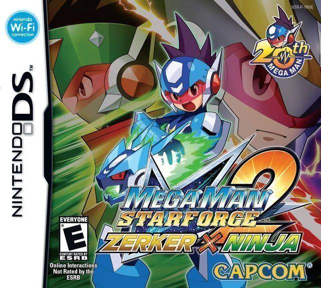 2390 - MegaMan Star Force 2 - Zerker X Ninja