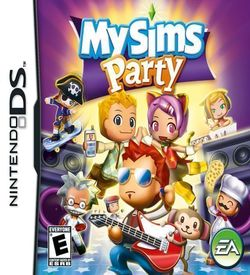 3808 - MySims - Party (US)(1 Up) ROM