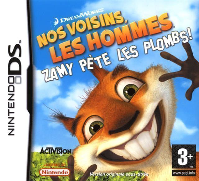 1058 - Over The Hedge - Hammy Goes Nuts!