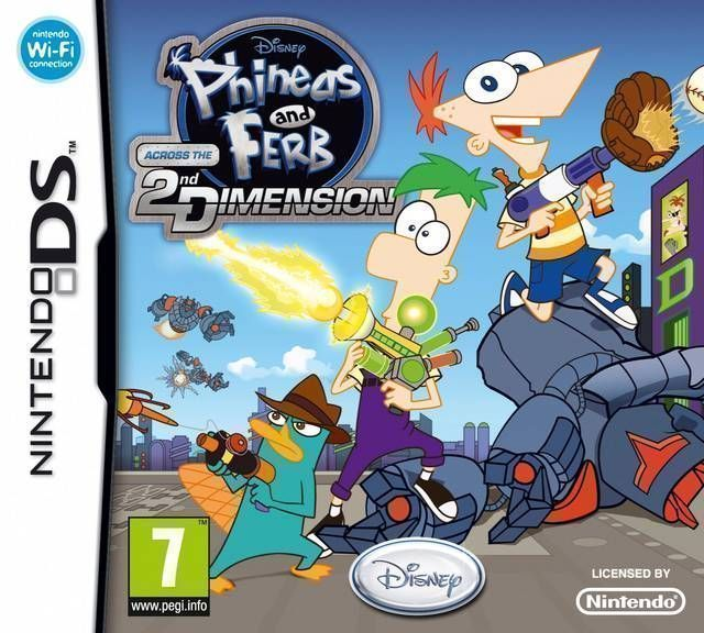 5836 - Phineas And Ferb - Across The 2nd Dimension