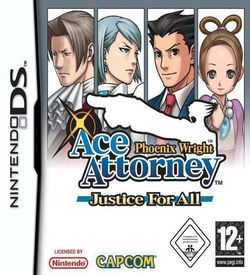 0926 - Phoenix Wright - Ace Attorney Justice For All ROM