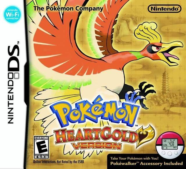 4851 - Pokemon - Versione Oro HeartGold