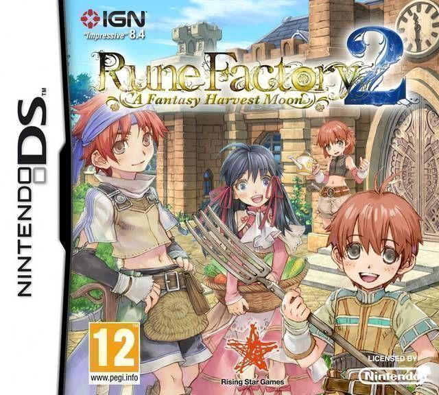 5260 - Rune Factory 2 - A Fantasy Harvest Moon