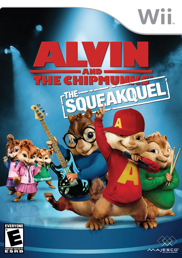 Alvin And The Chipmunks- The Squeakquel