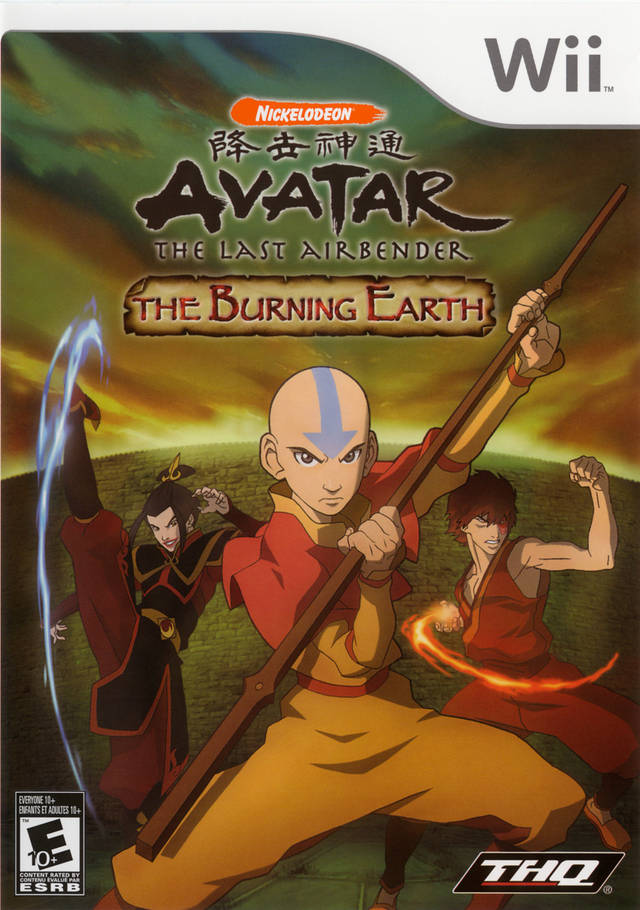 Avatar - The Last Airbender- The Burning Earth