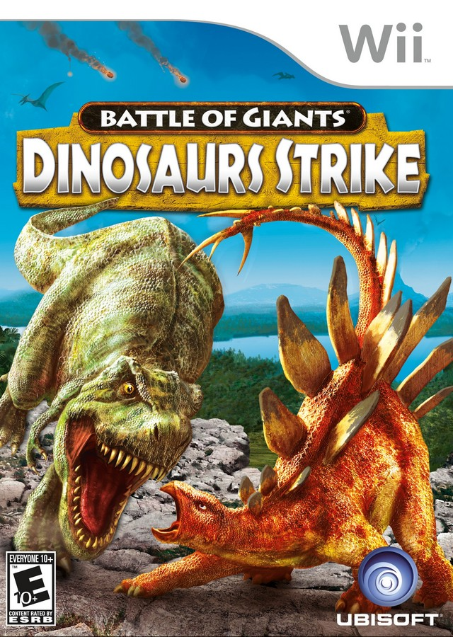 Battle Of Giants - Dinosaurs Strike