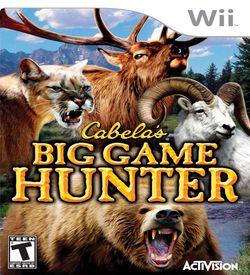 Cabela's Big Game Hunter ROM