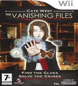 Cate West- The Vanishing Files ROM