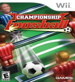 Championship Foosball ROM